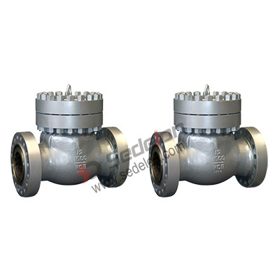 Low emission check valves
