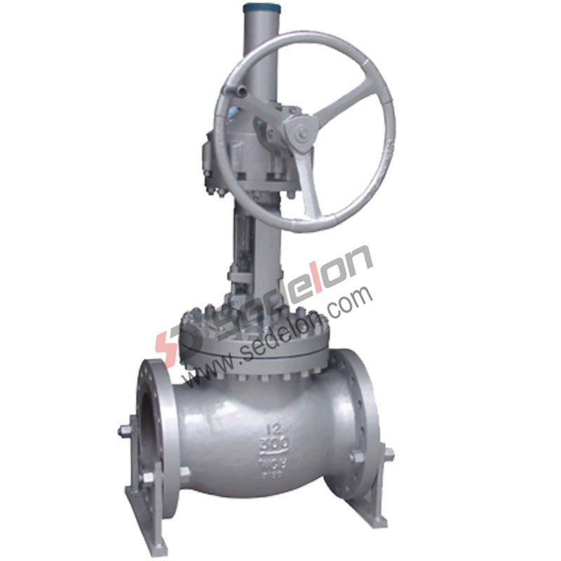 Gear Operated Globe valve