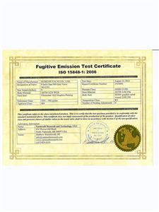 Fugitive-Emission-Test-Certificate